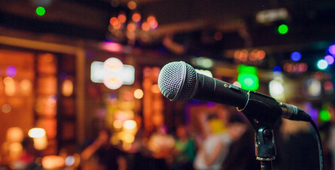 karaoke parties microphone
