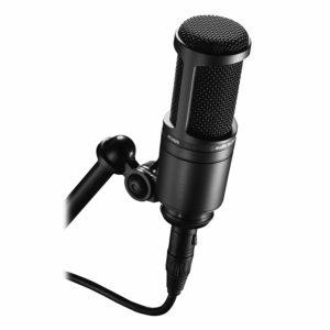 audio technica condenser